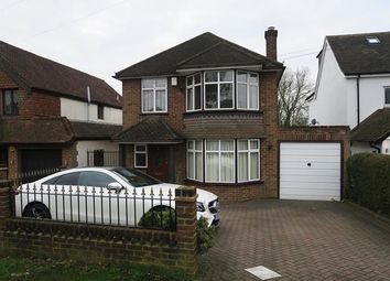 Thumbnail 3 bed detached house to rent in Bridge Hill, Epping, Essex