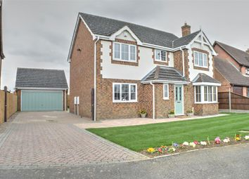 Thumbnail 4 bedroom detached house for sale in Lambourne Way, Heckington, Sleaford