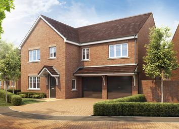 "Thumbnail 4 bed detached house for sale in ""The Compton"" at Manor Lane, Maidenhead"