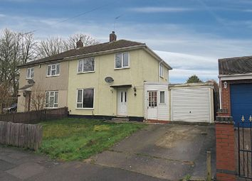 Thumbnail 3 bed semi-detached house for sale in Greenwich Drive South, Kingsway, Derby