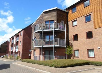 Thumbnail 2 bed flat for sale in Swanwick Lane, Broughton, Milton Keynes