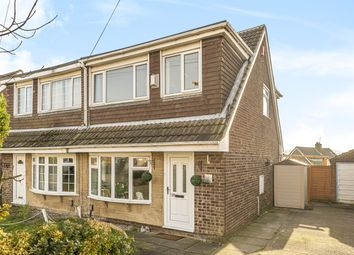 Thumbnail 3 bed semi-detached house for sale in Woodlea Grove, Yeadon, Leeds