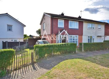 Thumbnail 3 bed semi-detached house for sale in Huntsman Road, Ilford