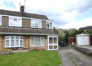 Thumbnail 3 bed semi-detached house for sale in Harwood Close, Arnold, Nottingham