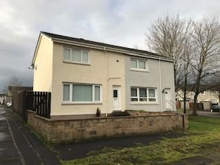 Thumbnail 2 bed semi-detached house for sale in Moss Path, Baillieston, Glasgow