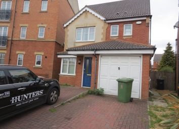 Thumbnail 4 bed detached house for sale in Ovett Gardens, St James Village, Gateshead