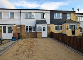 Thumbnail 3 bed terraced house for sale in East Paddock Court, Northampton