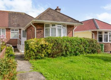 Thumbnail 3 bed semi-detached bungalow for sale in Marina Road, Plymouth