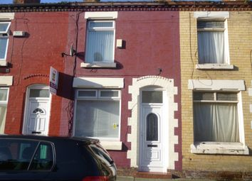 Thumbnail 2 bed terraced house to rent in Grantham Street, Liverpool