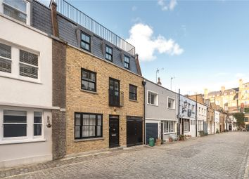 Thumbnail 3 bed mews house for sale in Leinster Mews, Bayswater, London