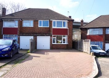 Thumbnail 3 bed semi-detached house for sale in Kennard Close, Rochester