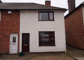 Thumbnail 2 bed semi-detached house to rent in Cromford Avenue, Wigston