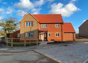 Thumbnail 4 bedroom detached house for sale in Holt Road, 1 The Limes, Edgefield, Melton Constable