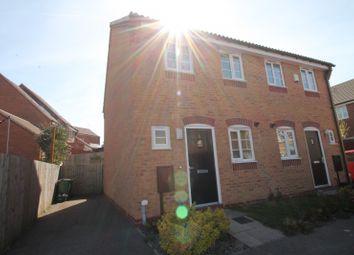 Thumbnail 2 bed semi-detached house to rent in Dunnock Close, Ravenshead, Nottingham