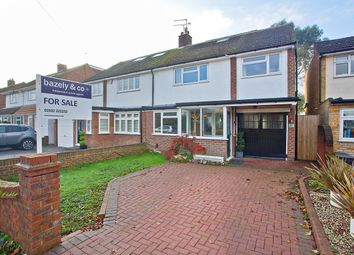 Thumbnail 4 bed semi-detached house for sale in Ashurst Drive, Shepperton