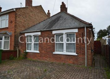 Thumbnail 1 bedroom detached bungalow for sale in Whitecroft Bungalows, Station Drive, Wisbech St. Mary, Wisbech