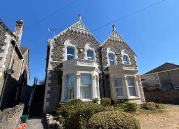 Thumbnail 3 bed maisonette for sale in Clarence Road North, Weston-Super-Mare