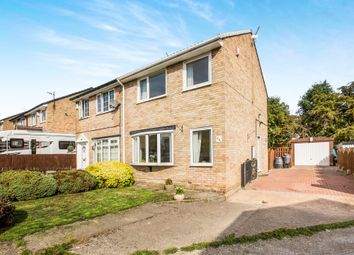 Thumbnail 3 bed semi-detached house for sale in Oakdale Close, Ovenden, Halifax