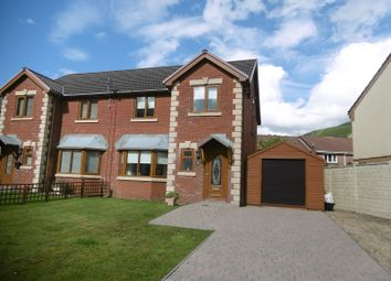 Thumbnail 3 bed semi-detached house for sale in Graig Newydd, Godrergraig, Swansea.
