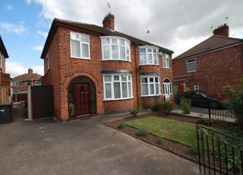Thumbnail 3 bed semi-detached house for sale in Eileen Avenue, Leicester