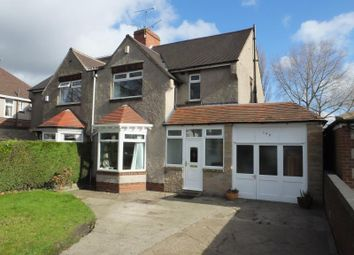 Thumbnail 3 bed semi-detached house for sale in Ridgeway Road, Gleadless, Sheffield