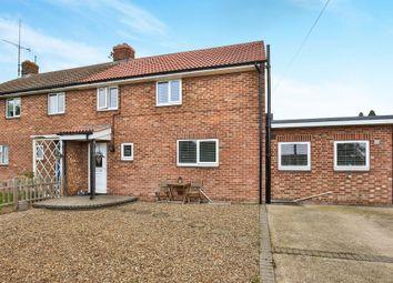 Thumbnail 3 bed semi-detached house for sale in Hillside, Marham, King's Lynn
