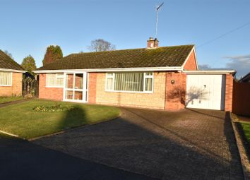 Thumbnail 3 bed detached bungalow for sale in Charnwood Close, Worcester