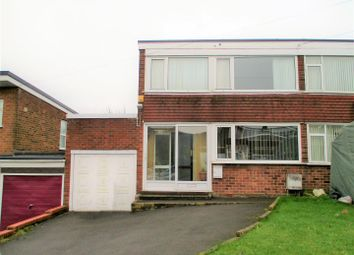 Thumbnail 3 bedroom semi-detached house for sale in Wendover Road, Lanesfield, Wolverhampton