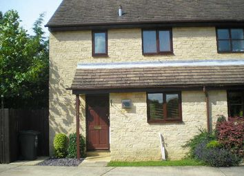 Thumbnail 2 bed semi-detached house to rent in Manor Road, Cogges, Witney, Oxon