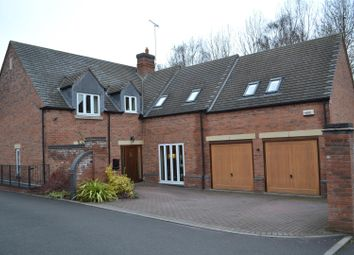 Thumbnail 5 bed detached house for sale in Alexandra Court, Overseal, Swadlincote