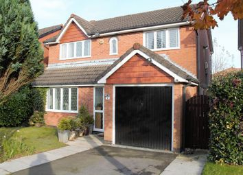 Thumbnail 4 bedroom detached house for sale in Highmeadow, Radcliffe, Manchester