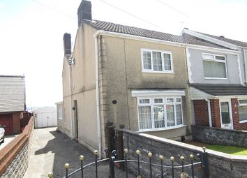 Thumbnail 3 bed end terrace house for sale in Cefn Road, Bonymaen, Swansea, City And County Of Swansea.