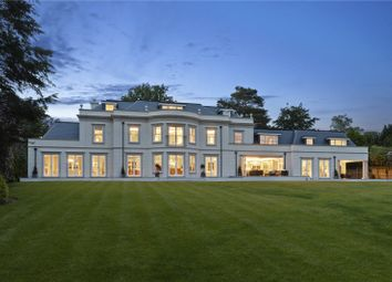 Thumbnail 6 bedroom detached house for sale in Nuns Walk, Virginia Water, Surrey