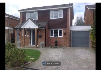 Thumbnail 4 bed detached house to rent in Goldsworth Park, Woking