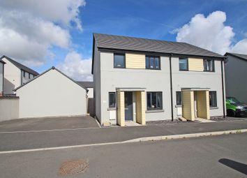 Thumbnail 3 bed semi-detached house for sale in Kilmar Street, Plymstock, Plymouth, Devon