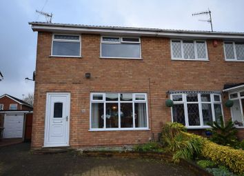 Thumbnail 3 bed semi-detached house for sale in Skellern Avenue, Bradeley, Stoke-On-Trent