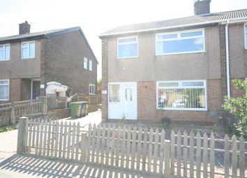 Thumbnail 3 bed semi-detached house to rent in Runswick Road, Eston, Middlesbrough
