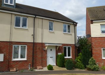 Thumbnail 2 bed semi-detached house for sale in Cornflower Avenue, Hampton Vale, Peterborough