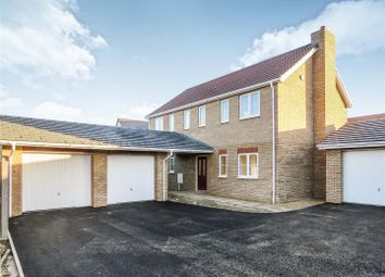 Thumbnail 4 bedroom detached house for sale in Gidding Road, Sawtry, Huntingdon