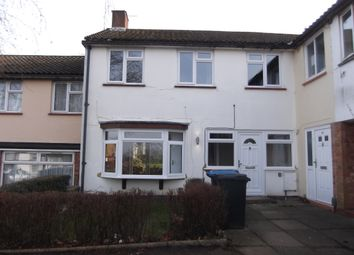 Thumbnail 3 bed terraced house to rent in Garden Avenue, Hatfield