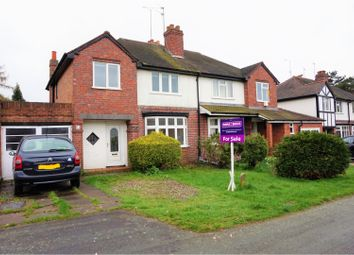 Thumbnail 3 bedroom semi-detached house for sale in St. Philips Avenue, Penn, Wolverhampton