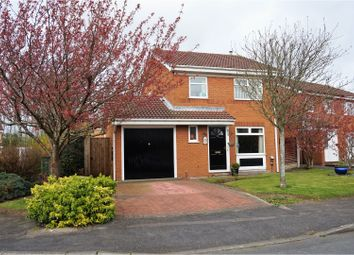 Thumbnail 3 bedroom detached house for sale in Savick Way, Preston