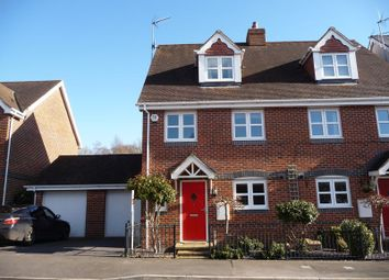Thumbnail 4 bed semi-detached house for sale in Stretcher Drive, Hermitage, Thatcham