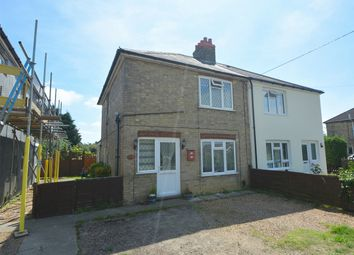 Thumbnail 3 bed semi-detached house for sale in Station Road, Willingham, Cambridge