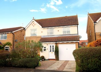 Thumbnail 4 bed detached house for sale in Willow Drive, North Duffield