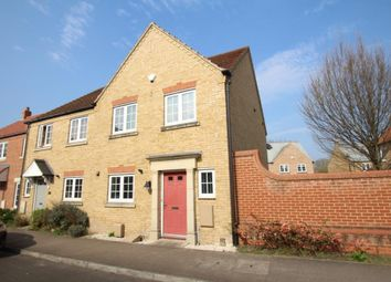 Thumbnail 3 bedroom end terrace house for sale in Highfield Drive, Littleport, Ely