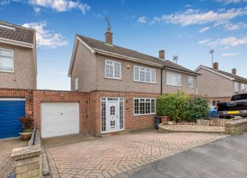 Thumbnail 3 bed semi-detached house for sale in Kingsway, Ware