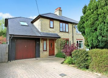 Thumbnail 3 bedroom semi-detached house for sale in Millfield, Cottenham, Cambridge