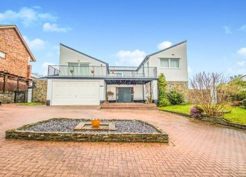 Thumbnail 4 bedroom detached house for sale in Cefn Mably Road, Lisvane, Cardiff