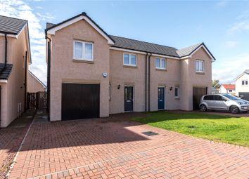 Thumbnail 3 bed semi-detached house for sale in South Quarry Brae, Gorebridge, Midlothian